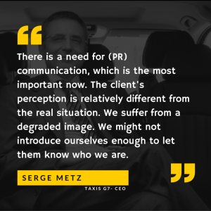 Serge Metz Taxis G7 quote